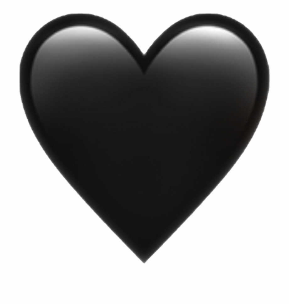 Black heart clipart transparent double svg library download Black Heart Emoji Png Pictures And Cliparts Download - Transparent ... svg library download
