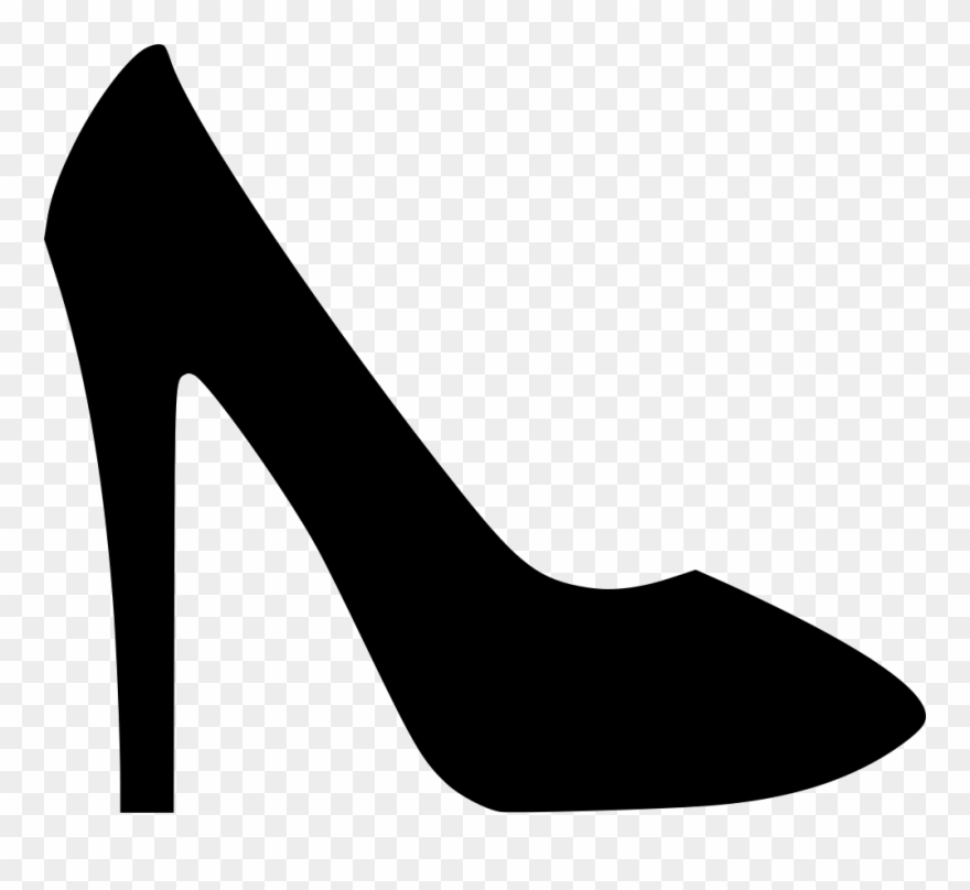 Black high heels clipart clip library library Shoes Sandal Heels Footwear Fashion Accessory Png - High Heel Icon ... clip library library