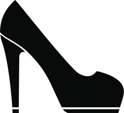Black high heels clipart graphic library download 104+ High Heels Clipart | ClipartLook graphic library download