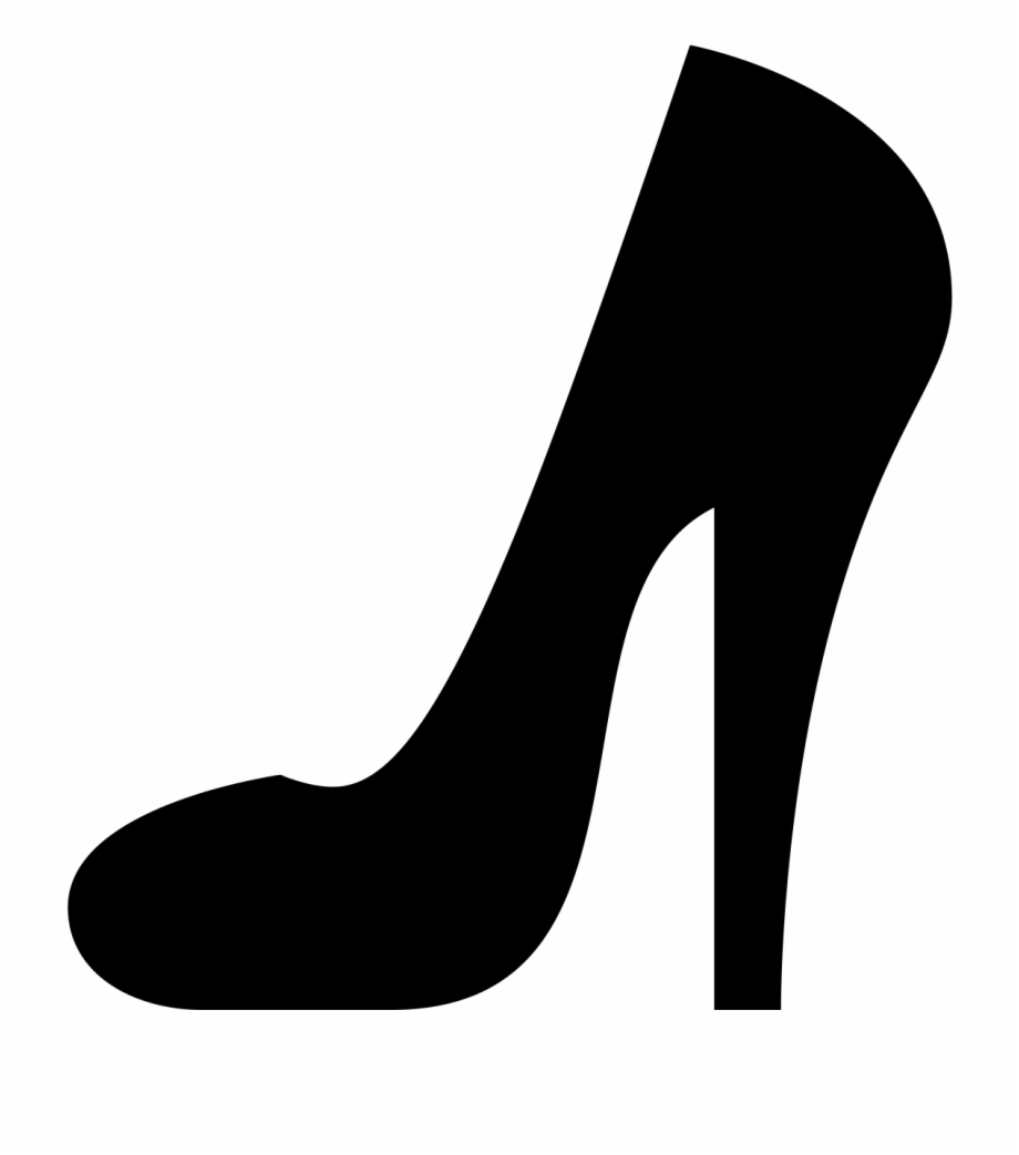 Free high heel shoe clipart clipart library stock High Heel Shoe Vibrant - High Heel Icon Black Free PNG Images ... clipart library stock