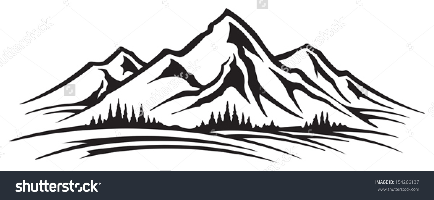 Black hills clipart png black and white download Hills clipart black and white 1 » Clipart Station png black and white download