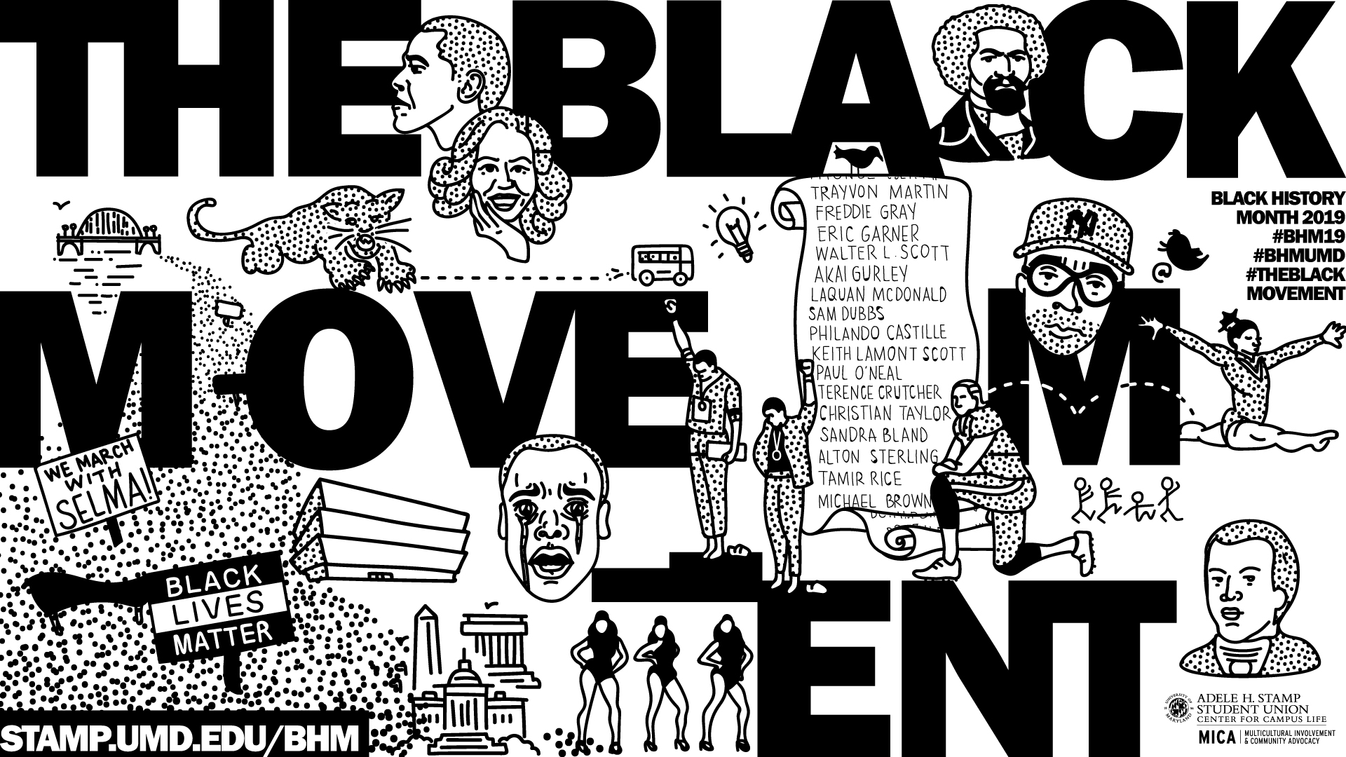 Black history month black and white clipart clip art download Black History Month clip art download