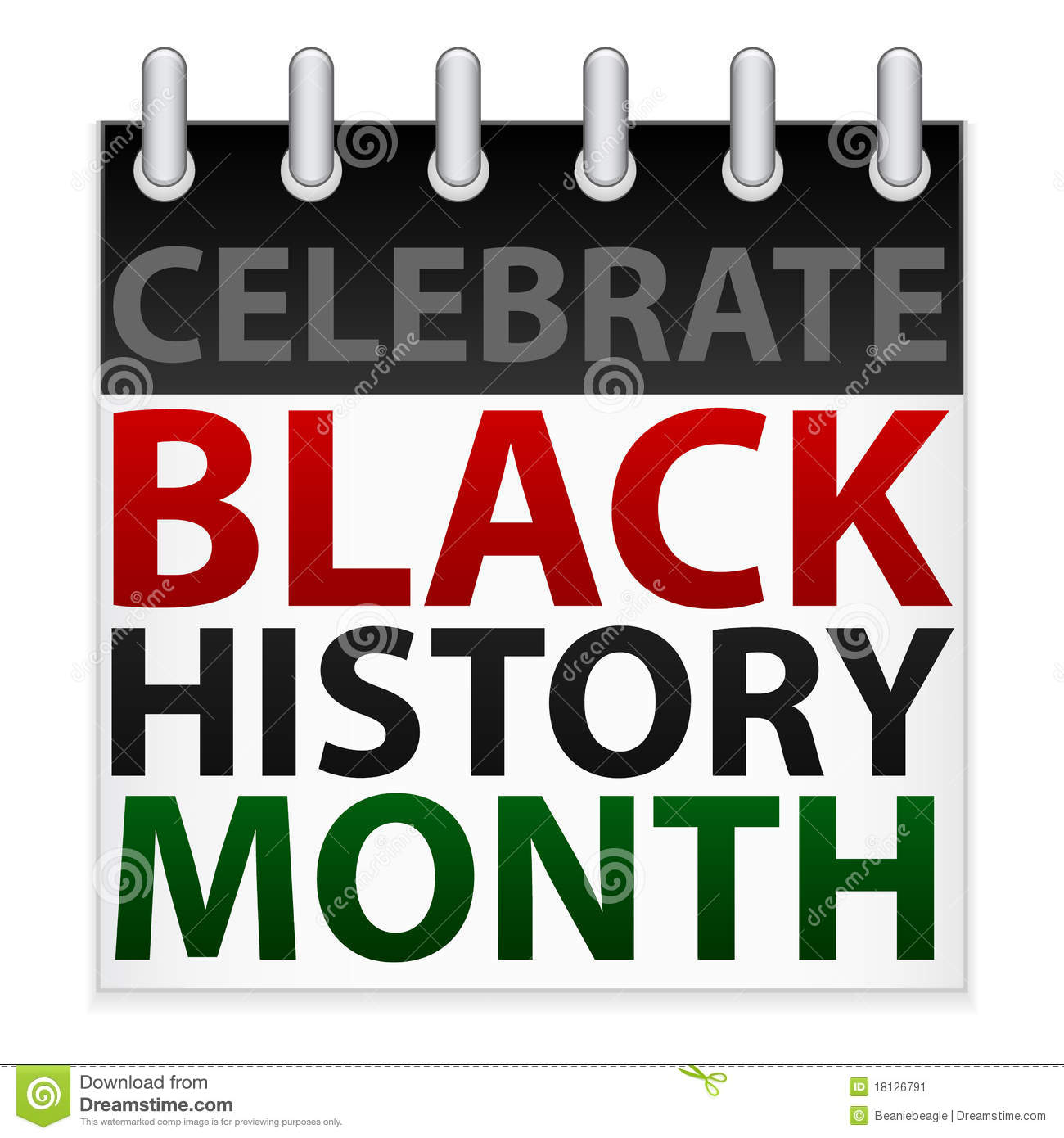 Black history month clip art. Borders clipart kid of