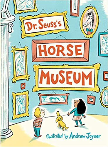 Black illustrated museum clipart clip library Dr. Seuss\'s Horse Museum: Dr. Seuss, Andrew Joyner: 9780399559129 ... clip library