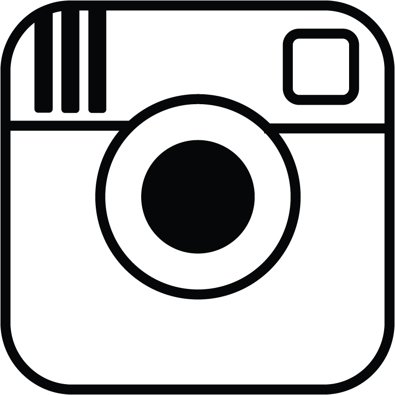 And white clipartfest logo. Black instagram clipart