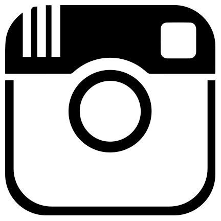 And white kid logo. Black instagram clipart
