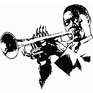 Black jazz musicain clipart picture transparent Free Jazz Cliparts, Download Free Clip Art, Free Clip Art on Clipart ... picture transparent