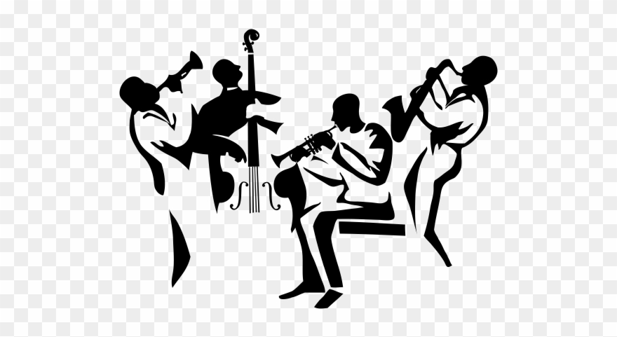 Black jazz musicain clipart image royalty free Music Silhouette, Music Wall, Jazz Poster, Jazz Band, - New Orleans ... image royalty free