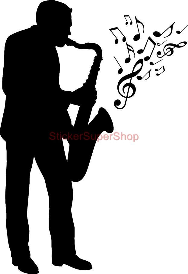 Black jazz musicain clipart svg library download Pin by Carol Livingston on Jazz musicians | Music silhouette ... svg library download