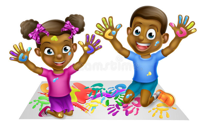 Library of black kids image png files Clipart Art 2019