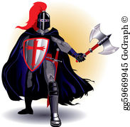 Black knights clipart clipart library stock Black Knight Clip Art - Royalty Free - GoGraph clipart library stock