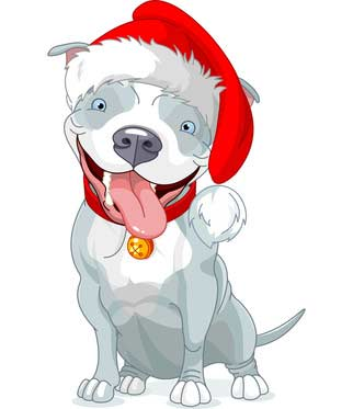 Black lab christmas clipart image royalty free stock Pictures of Dogs for Christmas Season - Dog Pictures image royalty free stock