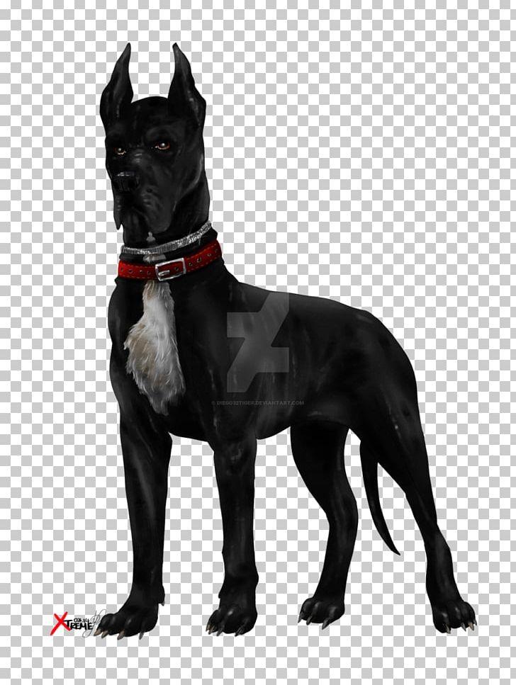 Black lab pit dog clipart