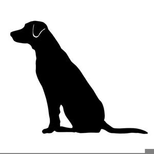 Labrador retriever clipart black white free clip freeuse stock Labrador Retriever Clipart Free | Free Images at Clker.com - vector ... clip freeuse stock