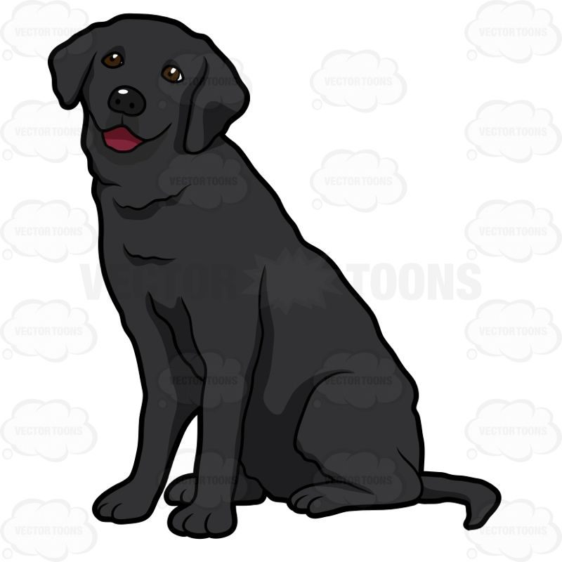 Black labrador retriever clipart clipart freeuse download Pin by Cecelia on Dogs in 2019 | Black labrador, Yellow lab puppies ... clipart freeuse download