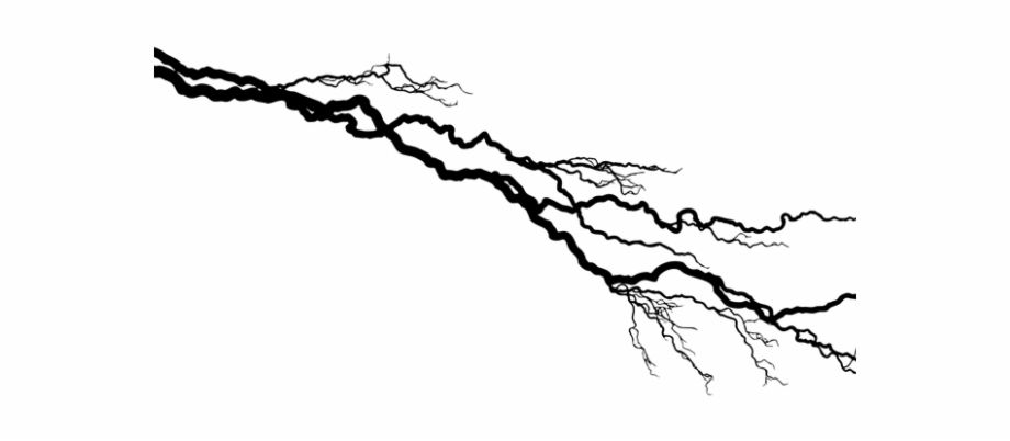 Black lightning bolt high resolution clipart black and white download HD Electricity Clipart Lightning Bolt - Black Lightning Strike Png ... black and white download