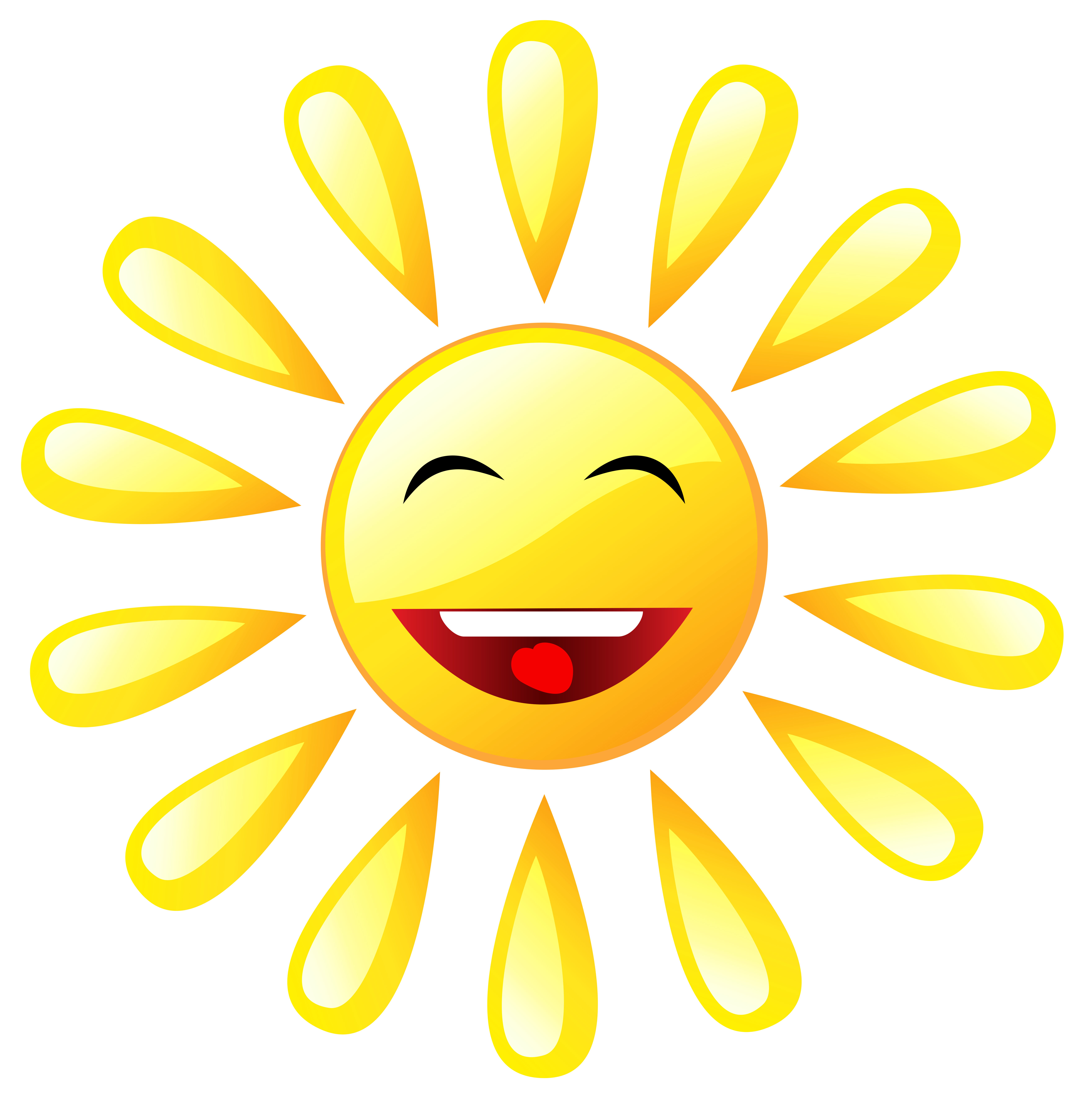 Black line smiling sun clipart jpg free Transparent Cartoon Sun PNG Picture | Gallery Yopriceville - High ... jpg free