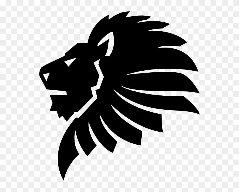Black lion clipart png library library Image Result For Lion Logo Pinterest Black - Lion Head Clipart Black ... png library library