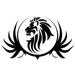 Black lion clipart clipart transparent Black Lion Crest clipart, cliparts of Black Lion Crest free download ... clipart transparent