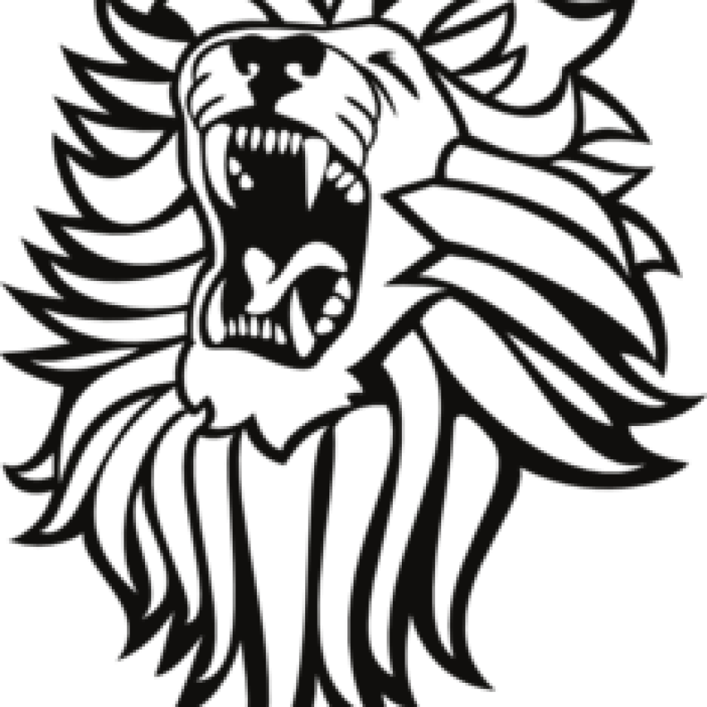 Lion Drawing Black And White at GetDrawings.com | Free for personal ... vector black and white