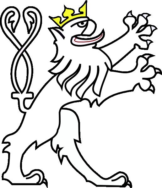 Lion With Crown Clip Art at Clker.com - vector clip art online ... jpg transparent stock