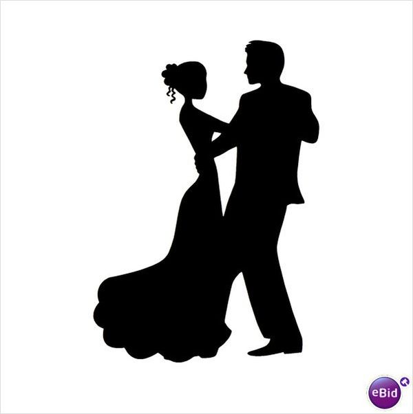 Black love dancing clipart graphic black and white download Dancing couple | Silhouettes | Couple silhouette, Silhouette vector ... graphic black and white download