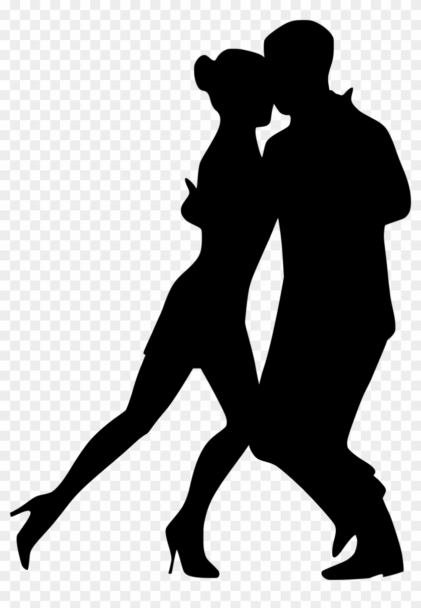Black love dancing clipart banner free library Clipart - Couple Dance Silhouette Png, Transparent Png - 1717x2400 ... banner free library