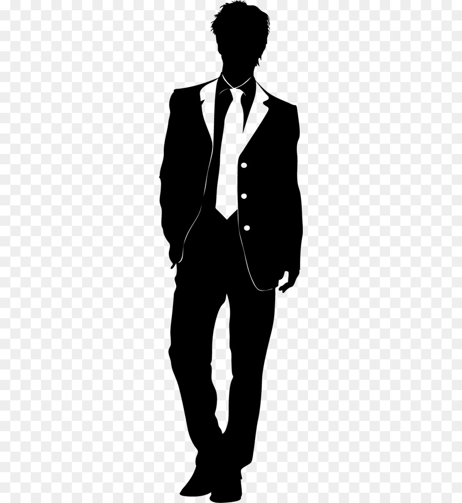 Male models clipart black and white jpg library library Man Cartoon png download - 374*980 - Free Transparent Fashion png ... jpg library library