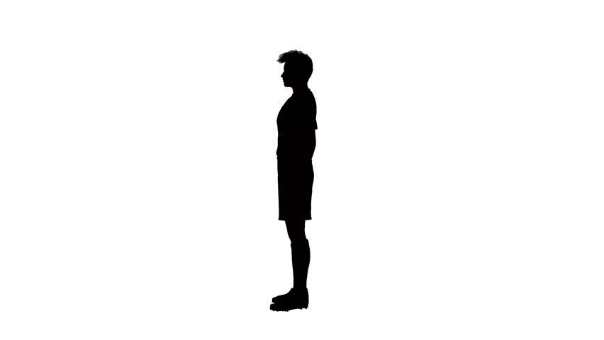 Black man clipart facing sideways image free stock Person Standing Sideways   Free download best Person Standing ... image free stock