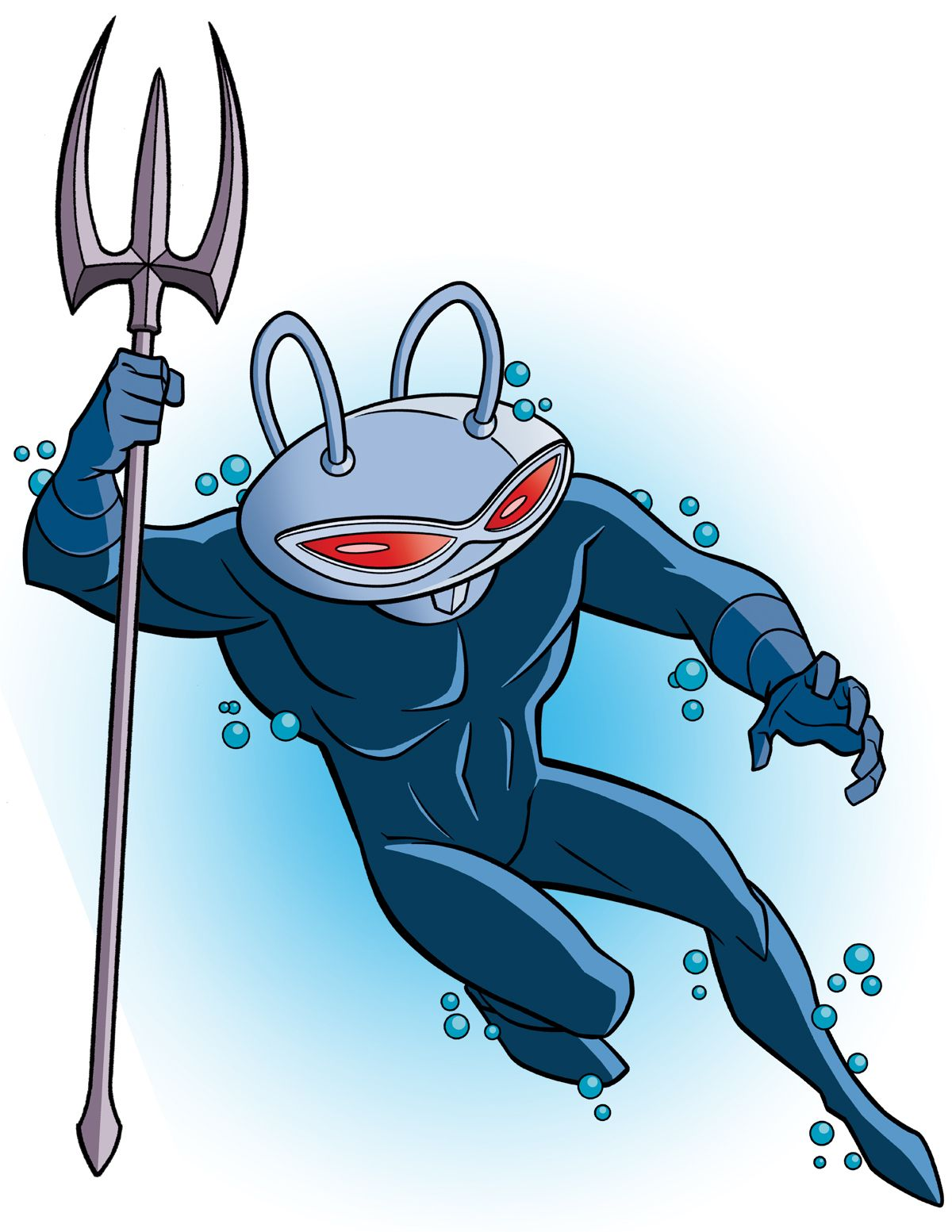 Black manta clipart image How To Draw DC Villains - Black Manta by TimLevins | DC | Black ... image