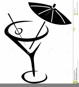 Black martini glass clipart clip art free library Martini Glass Clipart Black And White | Free Images at Clker.com ... clip art free library