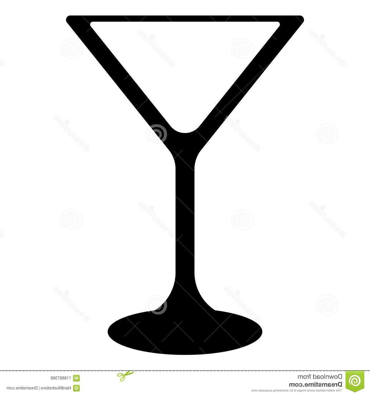 Black martini glass clipart clipart Best HD Martini Glass Clip Art Black And White Images » Free Vector ... clipart