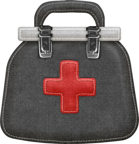 Black medical bag with red cross clipart jpg black and white download Free Doctor Bag Cliparts, Download Free Clip Art, Free Clip Art on ... jpg black and white download