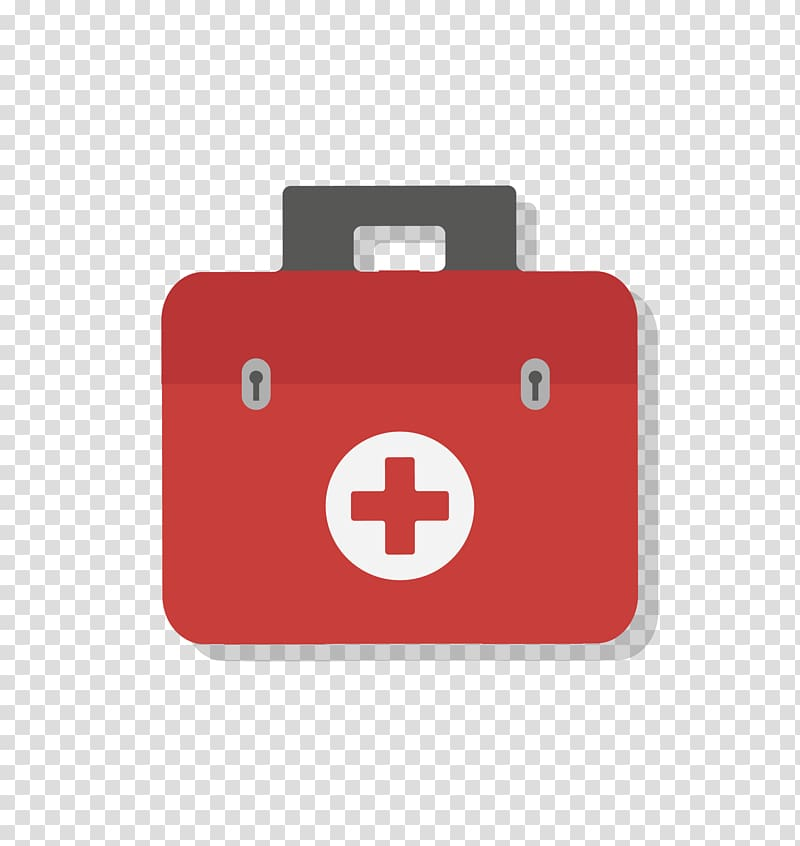 Closed black medical bag with red cross clipart image freeuse library Health Care First aid kit Icon, red cross first aid box transparent ... image freeuse library