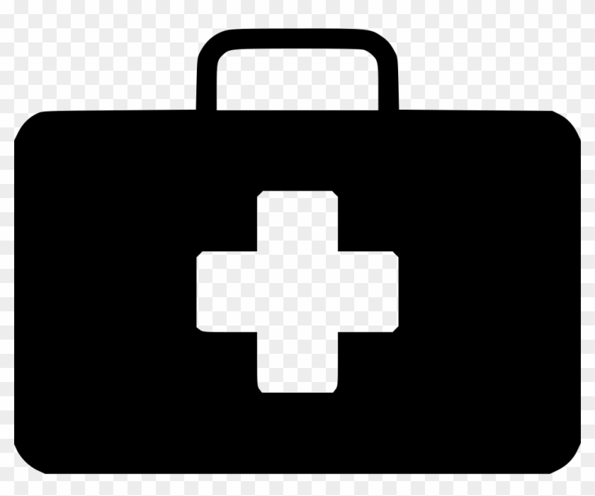 Closed black medical bag with red cross clipart png free stock Medical Suitcase Cross Hospital First Aid Doctor Svg - Electricity ... png free stock