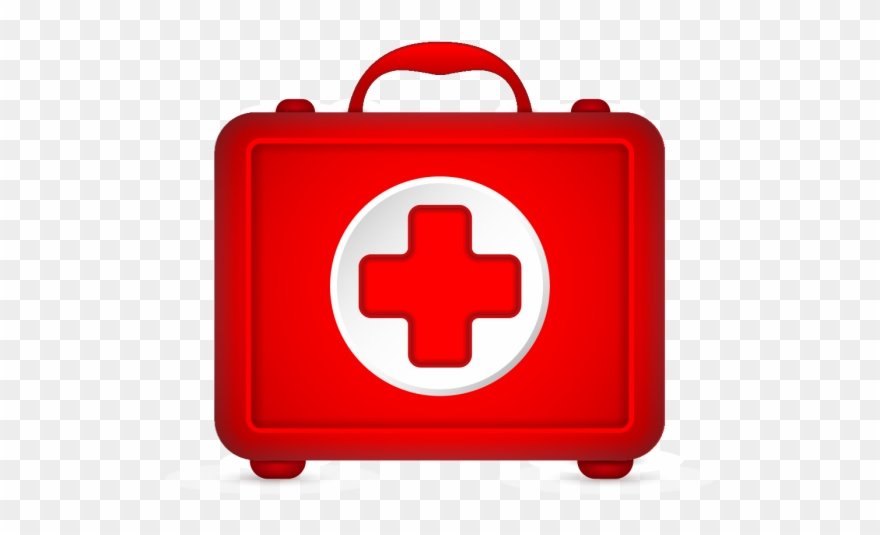 Black medical bag with red cross clipart clip art freeuse download First Aid Kit Png - First Aid Box Png Clipart (#3730328) - PinClipart clip art freeuse download