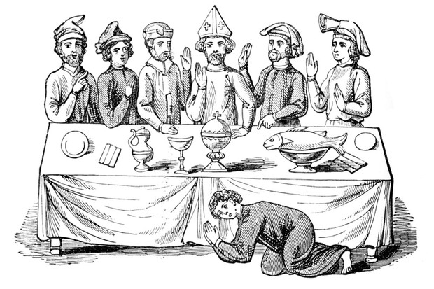 Black medieval pudding clipart jpg black and white download What did people eat in the Middle Ages? - History Extra jpg black and white download