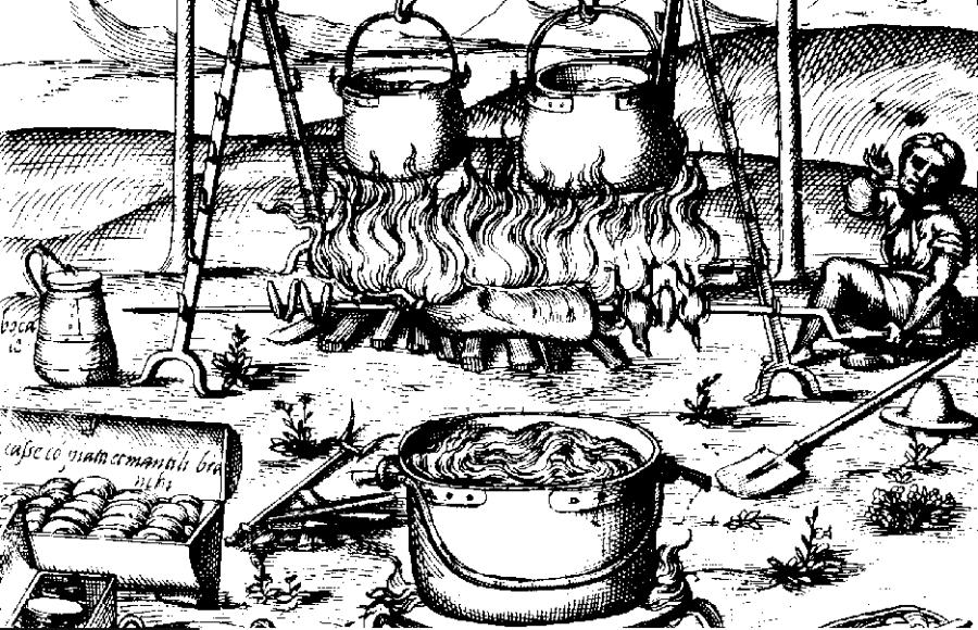 Black medieval pudding clipart vector free stock Farynas – Krakow\'s medieval street food - Culinary Krakow vector free stock