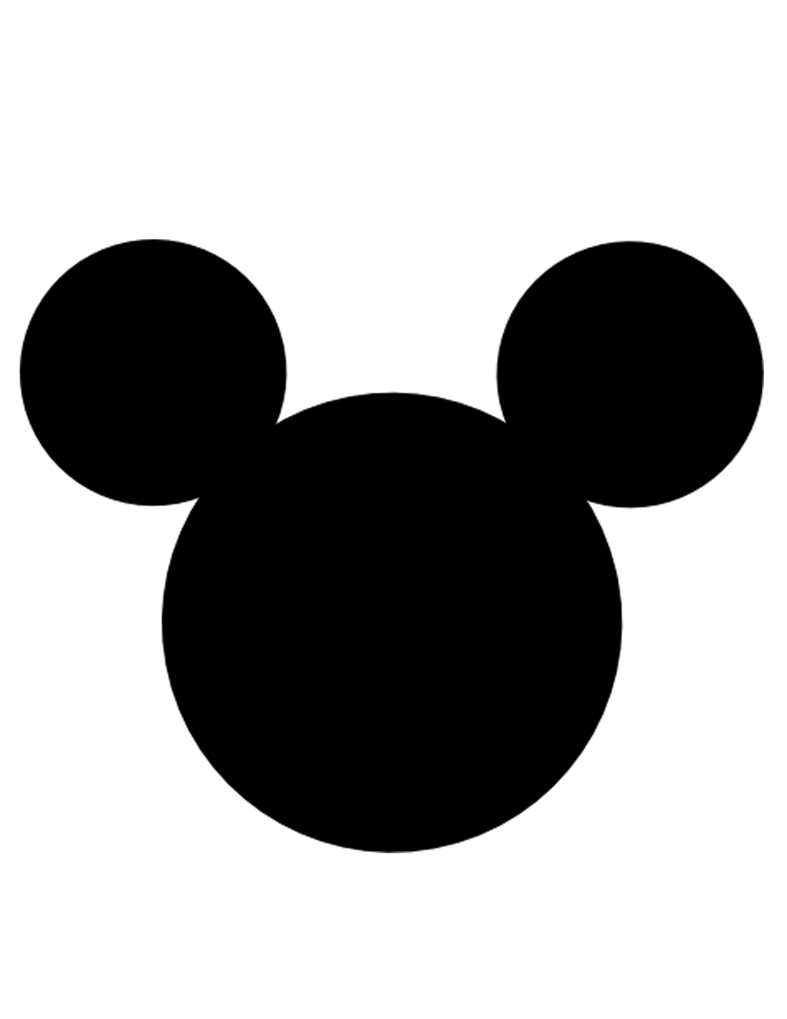 Black mickey mouse head clipart image royalty free stock Mickey Mouse Face Image   Free download best Mickey Mouse Face Image ... image royalty free stock