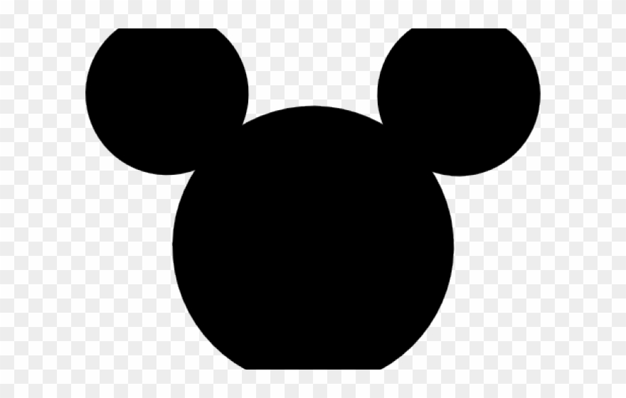 Black mickey mouse head clipart image free stock Mickey Mouse Head Png - Mickey Head Png Clipart (#399275) - PinClipart image free stock