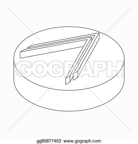 Black modern arrow clipart clip art transparent download Stock Illustration - Double modern arrow icon, isometric 3d style ... clip art transparent download
