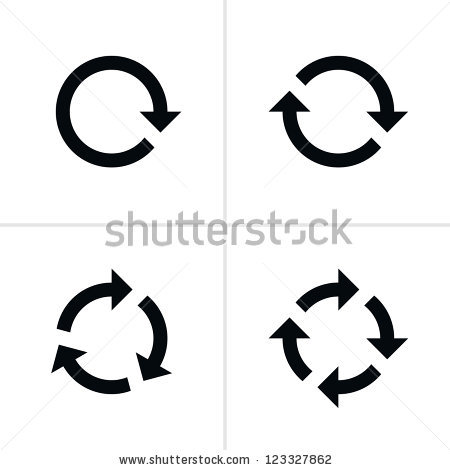 Black modern arrow clipart royalty free Arrow Circle Stock Images, Royalty-Free Images & Vectors ... royalty free