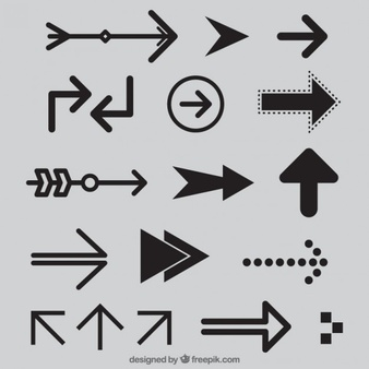 Black modern arrow clipart png library library Arrow Vectors, Photos and PSD files | Free Download png library library