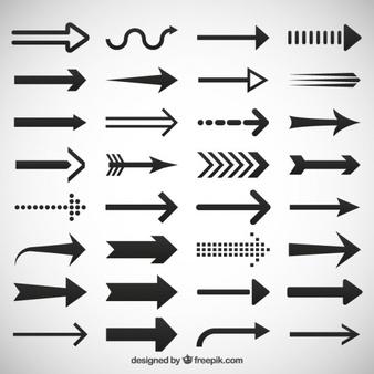 Black modern arrow clipart jpg royalty free library Arrow Vectors, Photos and PSD files | Free Download jpg royalty free library