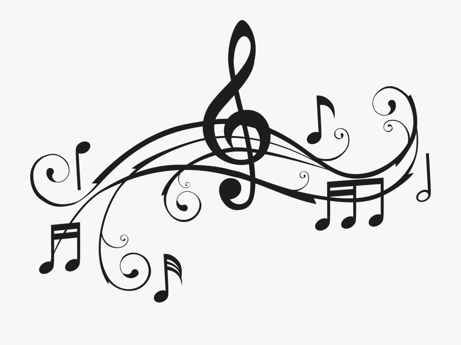 Black music notes clipart svg black and white stock Music Notes Clipart Black And White - Music Notes #3962 - Free ... svg black and white stock