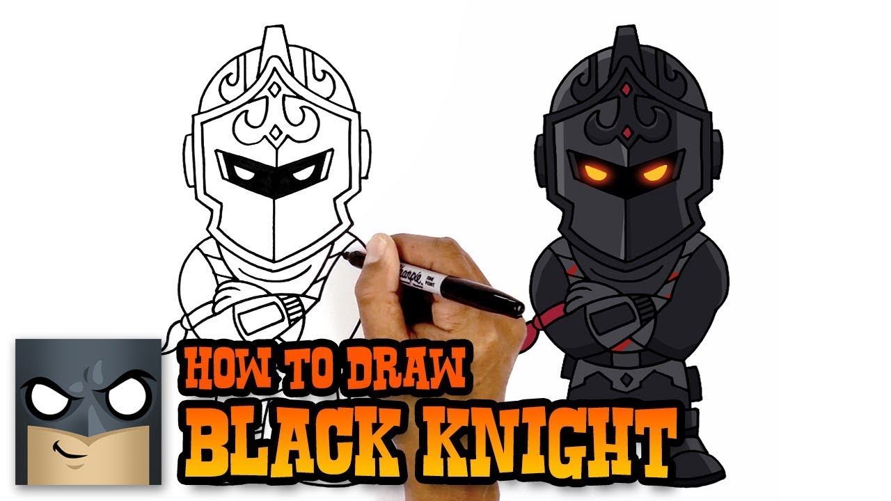 Black night clipart fortnite free library How to Draw Fortnite | Black Knight free library