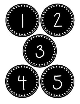 Black number 1 clipart picture stock Black and white number labels for numbers 1-30. Great for ... picture stock