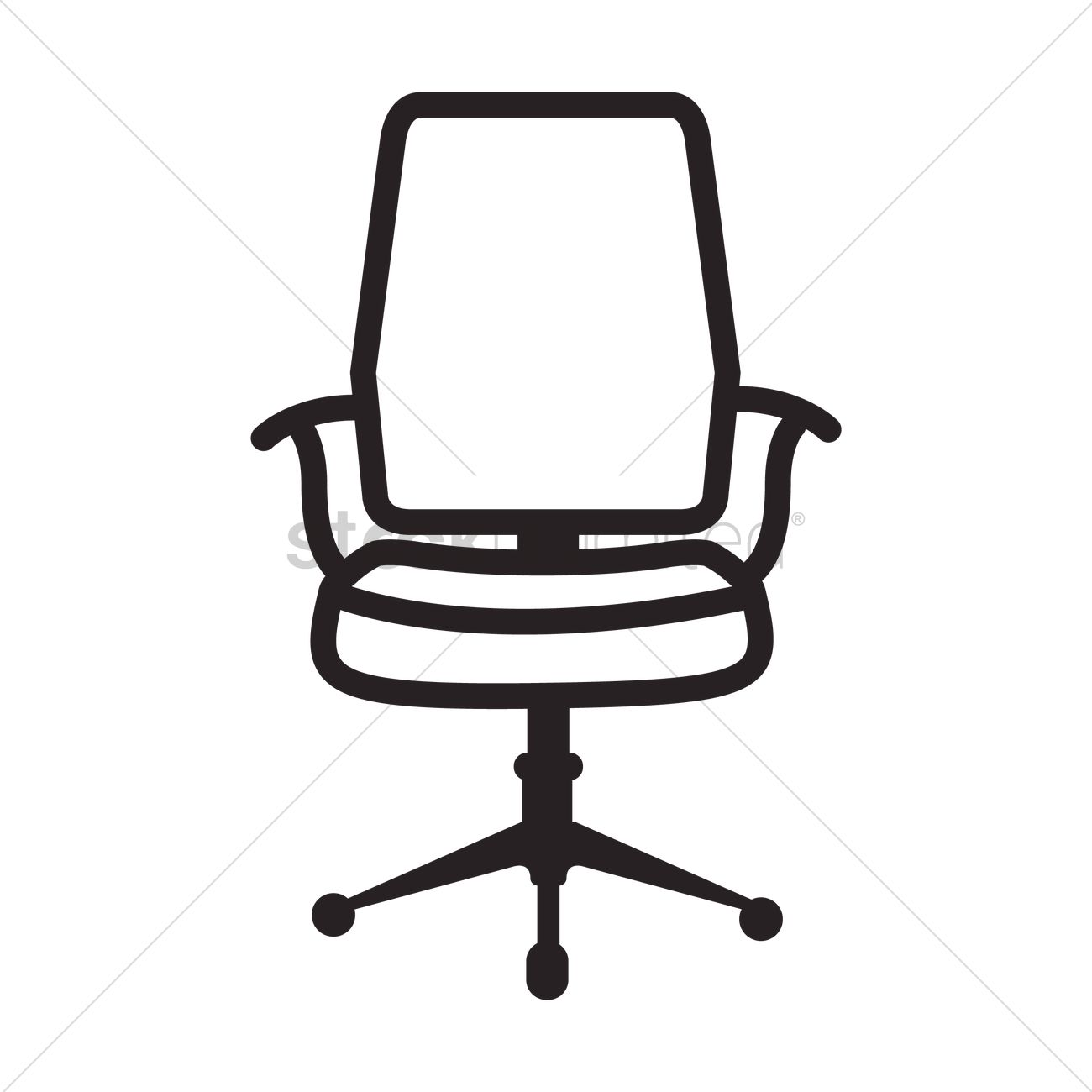 Black office chair clipart graphic library library Office Chair Clipart | Free download best Office Chair Clipart on ... graphic library library