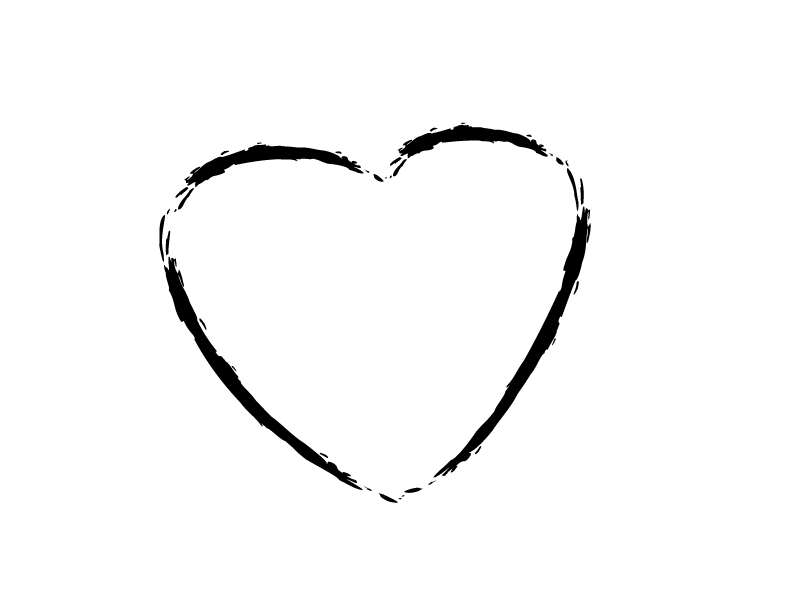 Sketch heart clipart jpg royalty free library Heart Outline Love Symbol transparent PNG - StickPNG jpg royalty free library