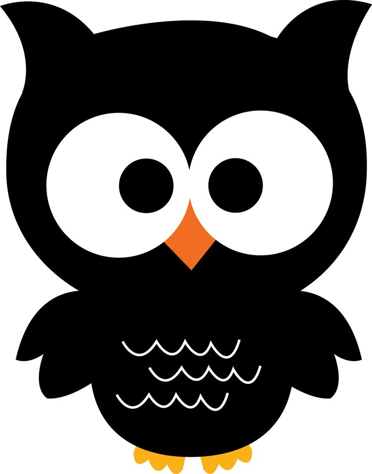 Black owl clipart vector library 123 best owl clipart images on pinterest owls appliques ... vector library